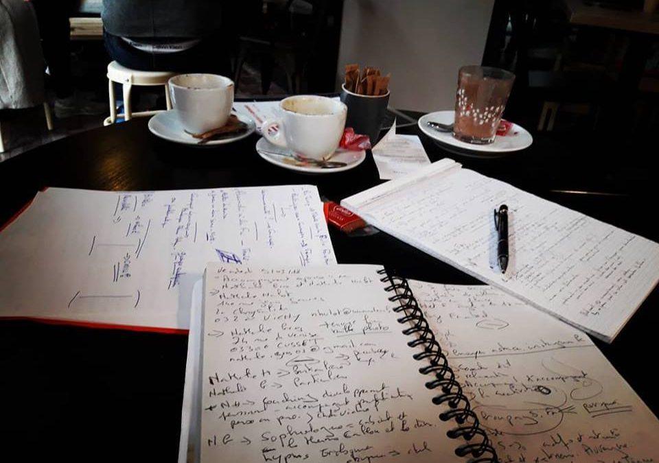 Pause goûter et brainstorming !